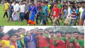 মোস্তফা কামাল ফুটবল টুর্ণামেন্টের ফাইনালে উপজেলা প্রশাসন