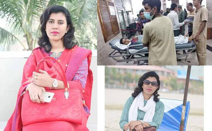 সড়ক দুর্ঘটনায় তানজিনা সাথী'র মর্মান্তিক মৃত্যু। শোক প্রকাশ