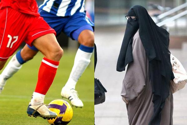 মুসলিম নারীদের জন্য পুরুষের ফুটবল খেলা দেখা হারাম