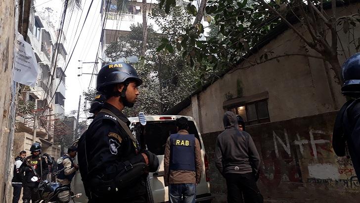 ঢাকার নাখালপাড়ায় ৩ 'জঙ্গি' নিহত