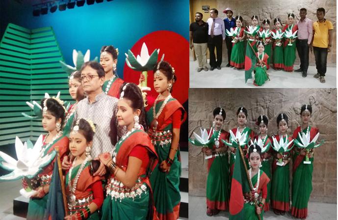 আখাউড়া শিল্পকলা একাডেমির নৃত্য সম্প্রচার এখন বাংলাদেশ টেলিভিশনে