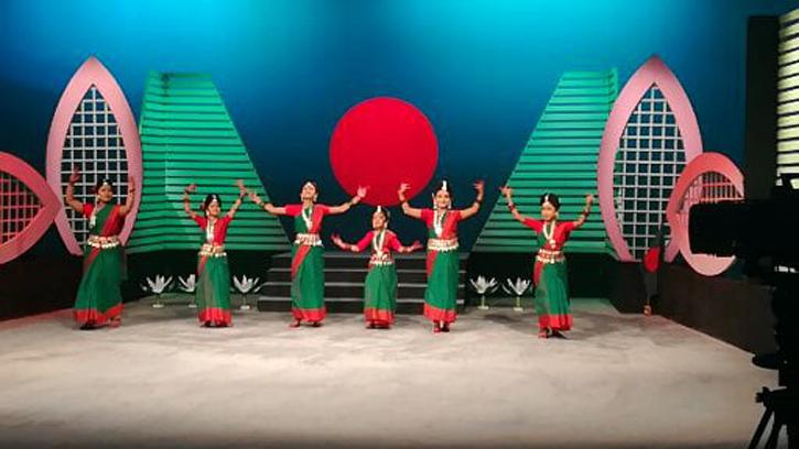 আখাউড়া শিল্পকলা একাডেমির নৃত্য সম্প্রচার করেছে বাংলাদেশ টেলিভিশন