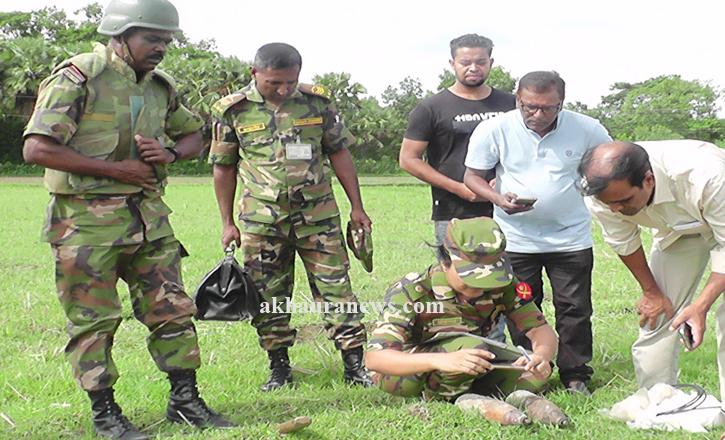 কসবায় ২টি মর্টার সেল ধ্বংস করেছে সেনাবাহিনী