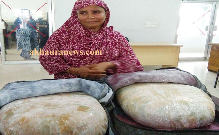 কসবায় গাজাসহ মাদক সম্রাজ্ঞী মর্জিনা বেগম আটক
