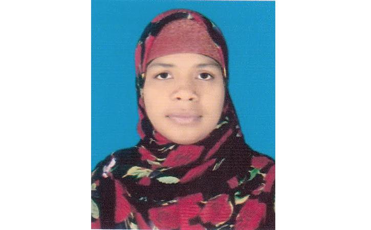 এসটিভি বাংলার কসবা প্রতিনিধি ফারজানা কাশমি