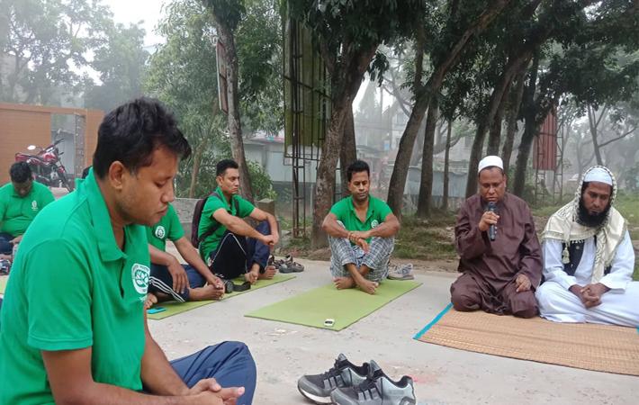 আখাউড়া উপজেলা নির্বাহী কর্মকর্তার মা'র মৃত্যুতে দোয়ার মাহফিল