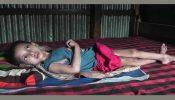 ব্রাহ্মণবাড়িয়ায় শিশু হাবিবা খানম ৮ মাস ধরে অচেতন