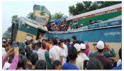 ব্রাহ্মণবাড়িয়ায় কসবায় ভয়াবহ ট্রেন দুর্ঘটনা।  ১৫ জনের লাশ উদ্ধার,  আহত শতাধিক