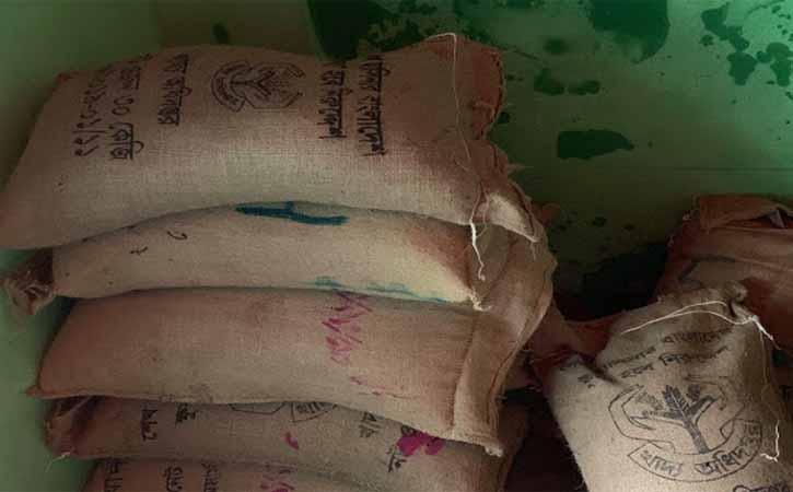 ব্রাহ্মণবাড়িয়ায় খাদ্যবান্ধব কর্মসূচির ২১ বস্তা সরকারী চাল উদ্ধার