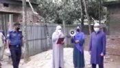 আখাউড়ায় করোনা আক্রান্ত এলাকায় লোক চলাচলের উপর কঠোর নিষেধাজ্ঞা আরোপ