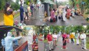 আখাউড়া স্থলবন্দর দিয়ে আরও ১৩৪ নাগরিককে ফেরত নিয়েছে ভারত সরকার