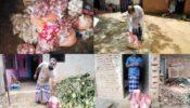 আখাউড়ায় আইসোলেশন ও লকডাউনকৃত পরিবারে প্রশাসনের বিভিন্ন খাদ্য সহায়তা