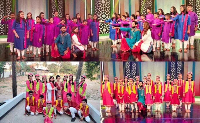 আখাউড়া শিল্পকলার শিক্ষার্থীরা ঈদের পরের দিন গান গাইবে এটিএন বাংলা টিভিতে